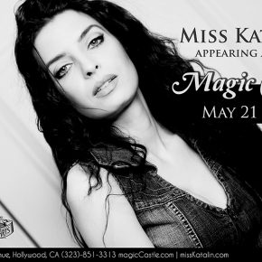 Appearing at the MagicCastle